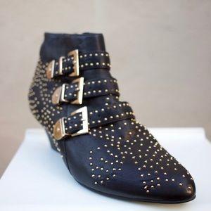 Jeffery Campbell Starburst Booties Size 7.5